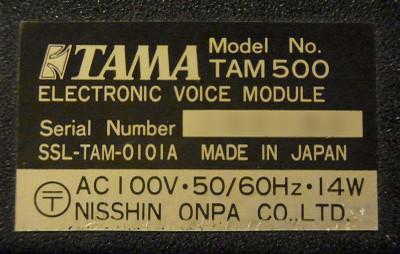 Tam500_serial